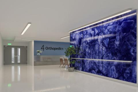 Feature Wall - Blue Amethyst